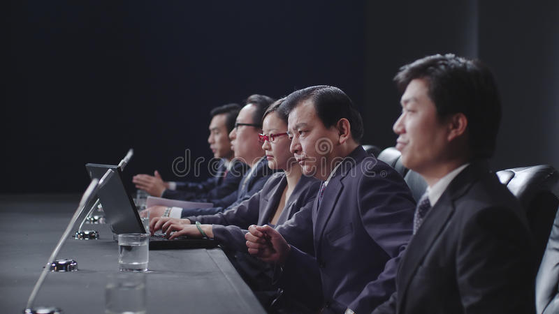 Download Business people in meeting stock image. Image of office - 18571311
