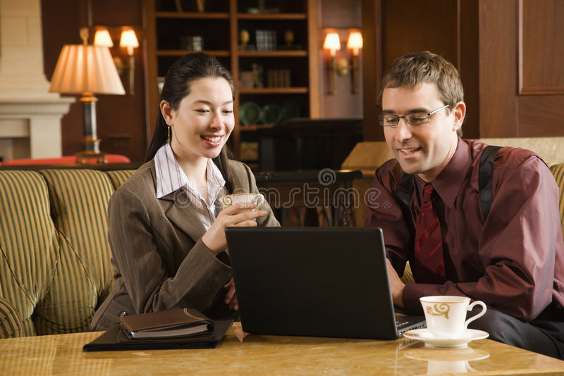 Business people meeting. royalty free stock images