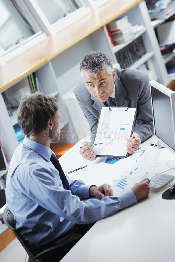 Download Business people in meeting stock photo. Image of support - 33211642