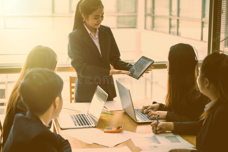Business People Meeting Corporate Success Brainstorming Teamwork royalty free stock photos