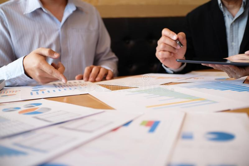 Business People Meeting Design Ideas professional investor worki royalty free stock photo