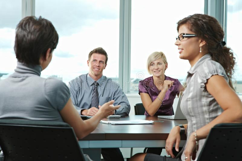 Business People Meeting At Office Royalty Free Stock Images