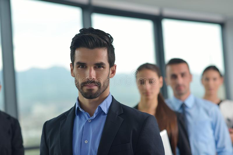 Download Business People In A Meeting At Office Stock Photo - Image of computer, happy: 33602180