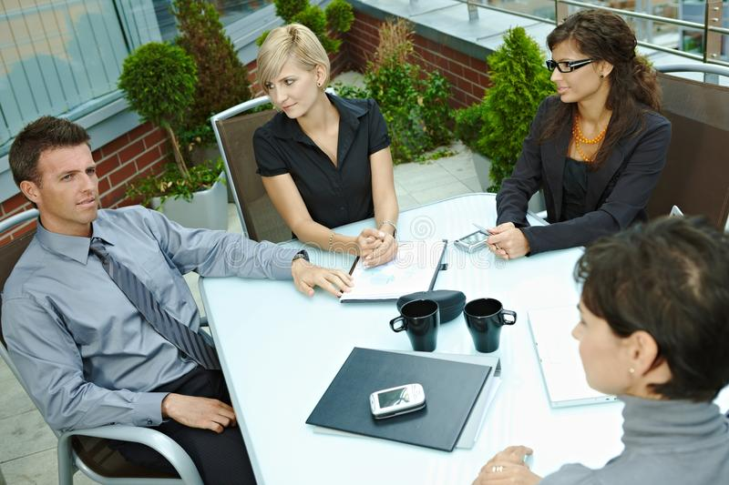 Download Business People Meeting Outdoor Royalty Free Stock Photography - Image: 12574847