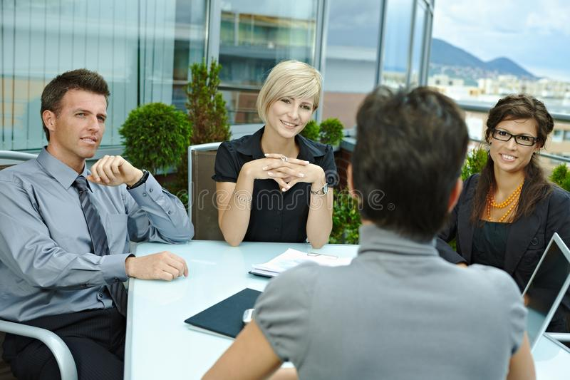 Download Business People Meeting Outdoor Royalty Free Stock Photography - Image: 24850687