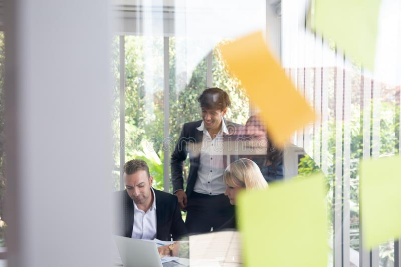 Business people meeting team, stock images