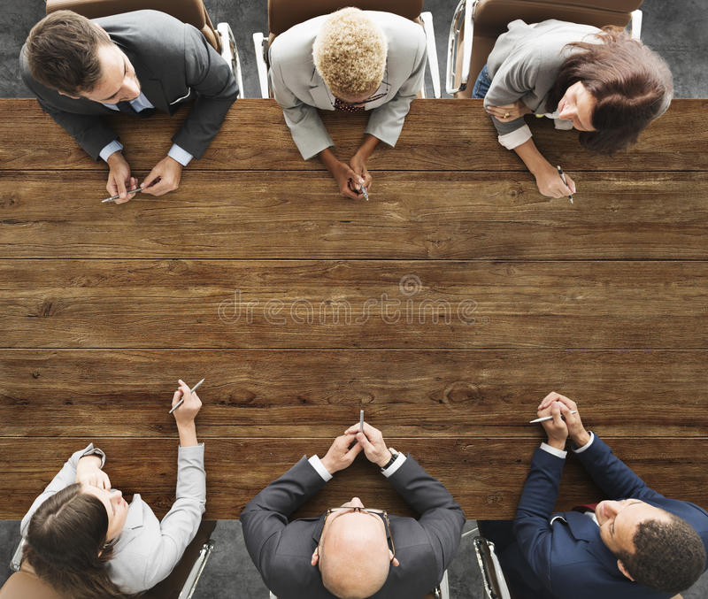 Business People Meeting Working Teamwork Concept royalty free stock photos