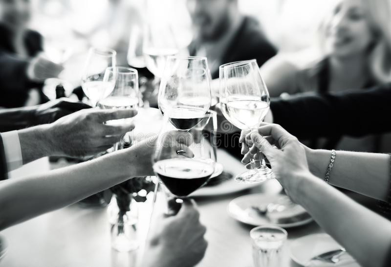 Business People Party Celebration Success Concept royalty free stock photos
