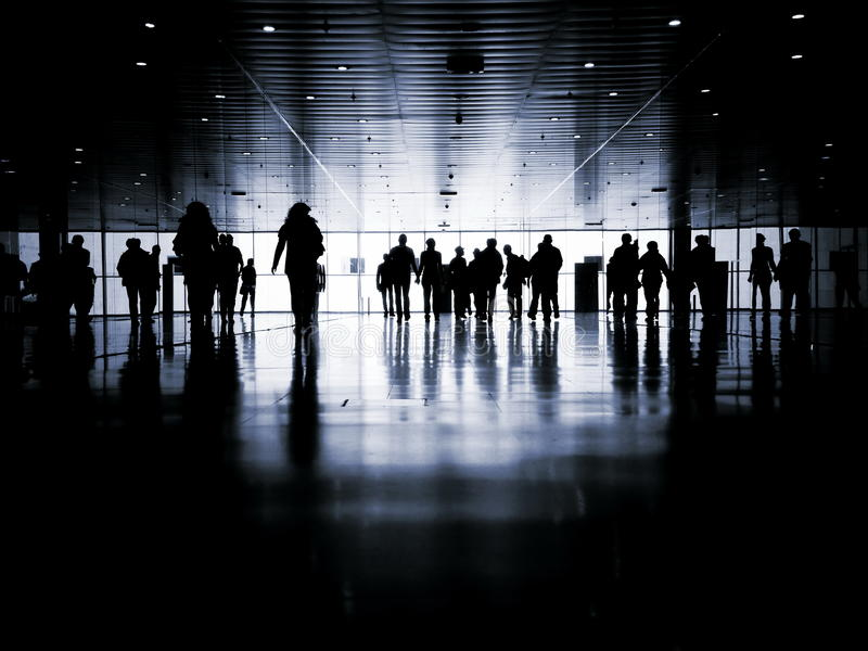 Business people pedestrian royalty free stock photos