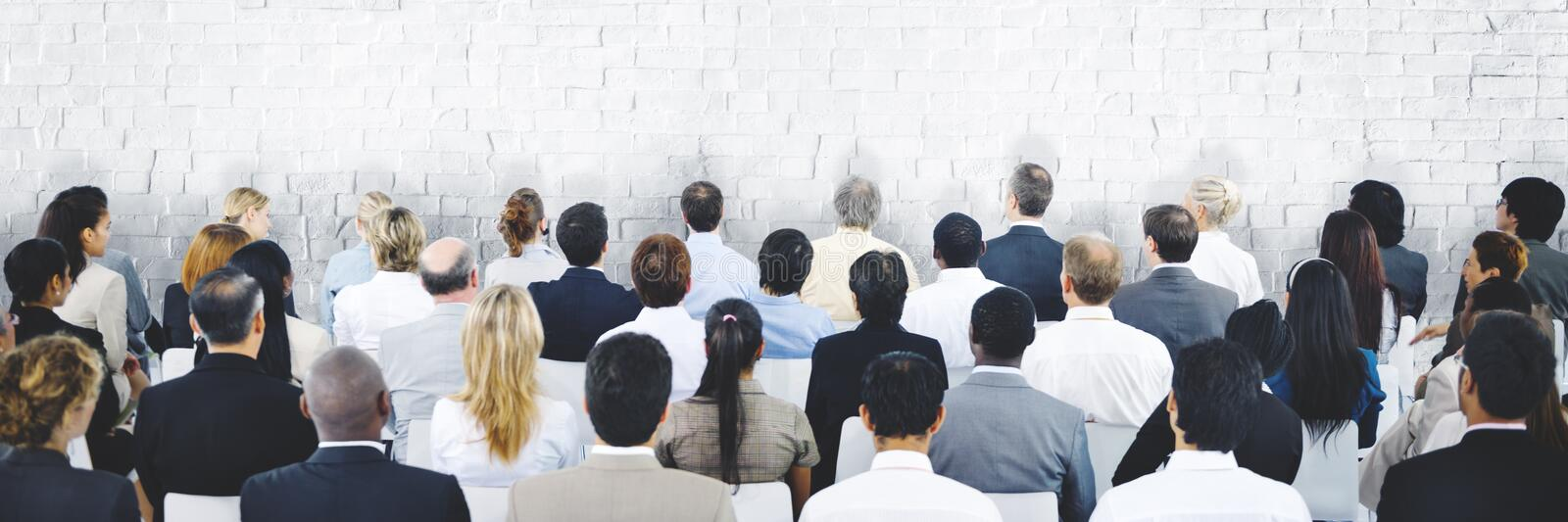 Business People Seminar Meeting Conference Corporate Concept royalty free stock photos