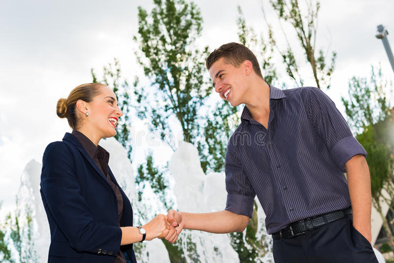 Download Business People Shake Hands Stock Image - Image of business, deal: 31450793