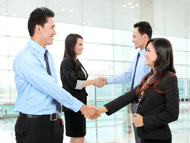 Download Business People Shaking Hands Stock Image - Image: 28807199