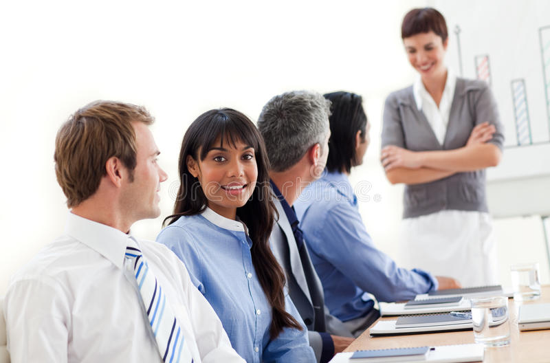 Business People Showing Ethnic Diversity Stock Photography
