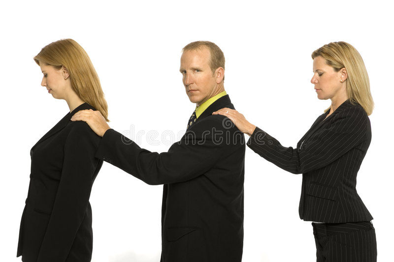 Download Business People Stand Together Stock Photo - Image: 2386424