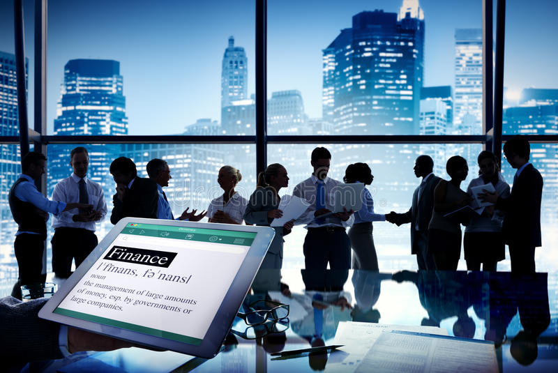 Business People Stock Exchange Finance Meeting Concept. Business People Stock Exchange Finance Meeting Communication Concept royalty free stock photography