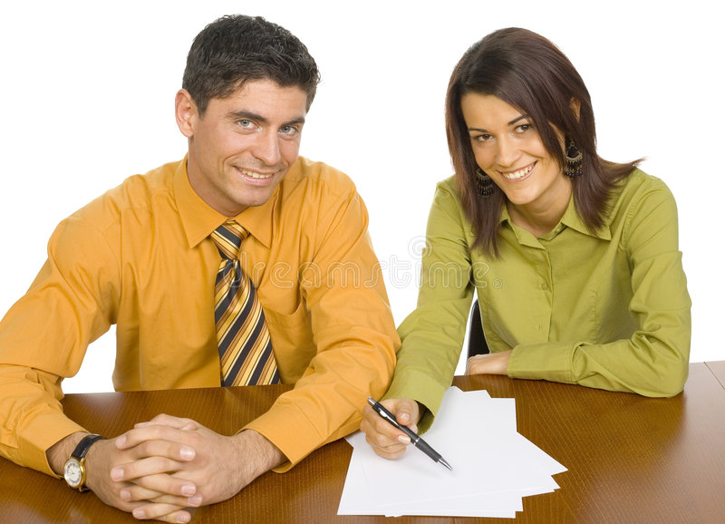 Download Business People At The Table Stock Photos - Image: 2218293