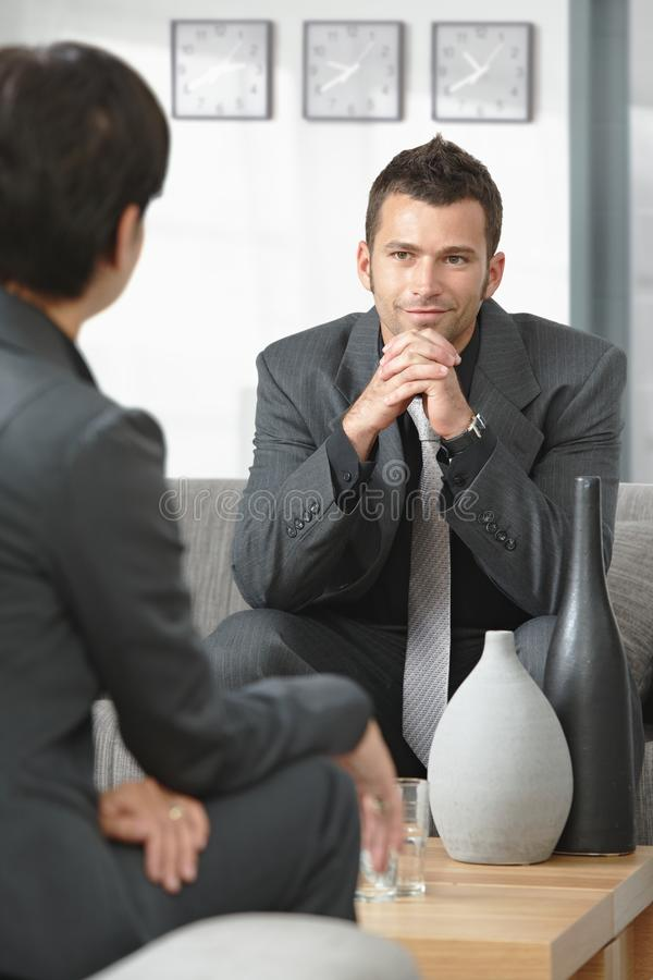 Download Business people talking stock photo. Image of adviser - 11476664