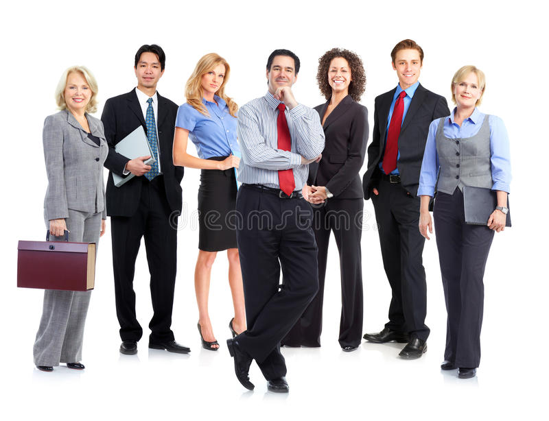 Business people team royalty free stock photos