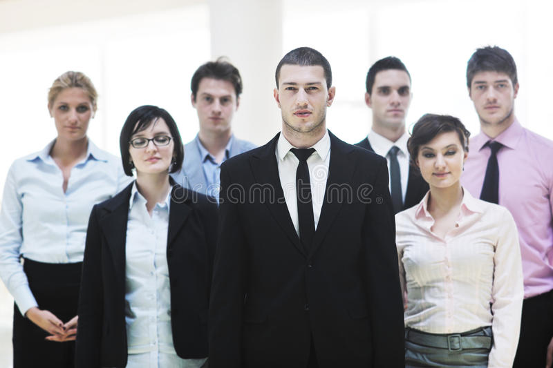 Business people team royalty free stock photography
