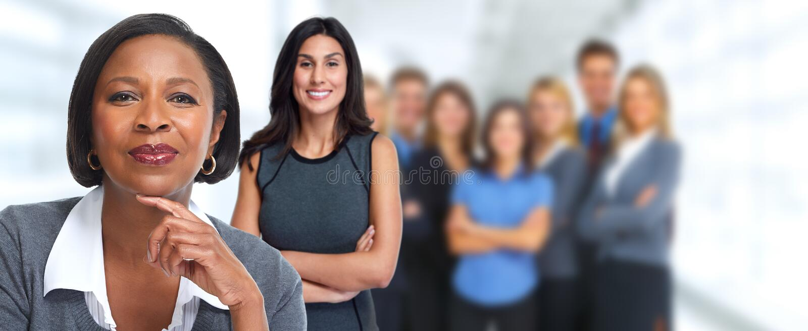 Business people team. royalty free stock images