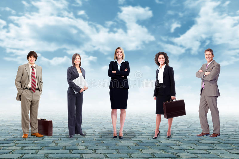 Business people team. stock photography