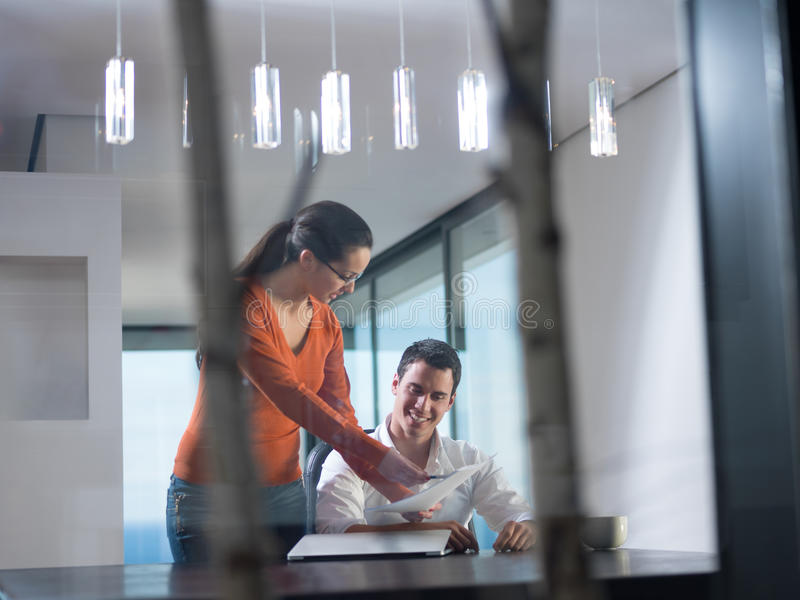 Business people team on meeting stock photos
