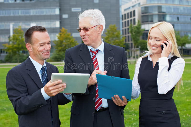 Business people team working royalty free stock images