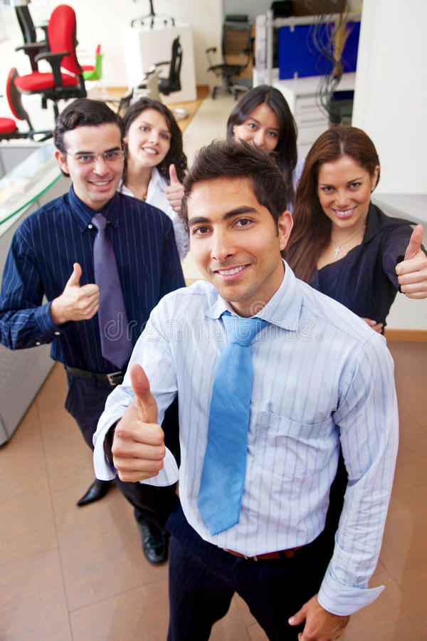Download Business People With Thumbs Up Stock Image - Image of businessmen, positive: 11748919