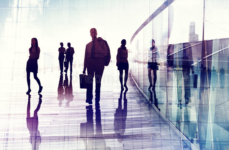 Business People Travel Walking Commuter Corporate Occupation Con stock photos