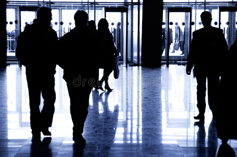 Download Business people walking stock photo. Image of exhibition - 2301992