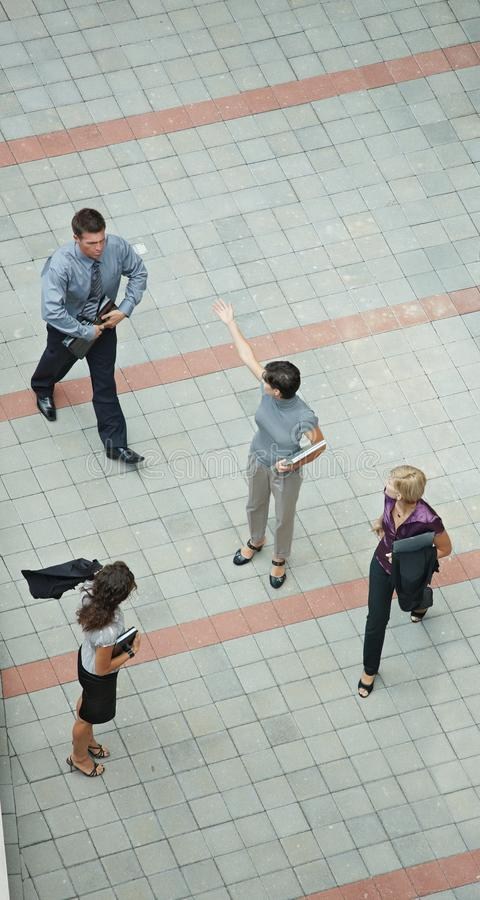 Download Business People Walking Overhead View Stock Photo - Image: 11688534