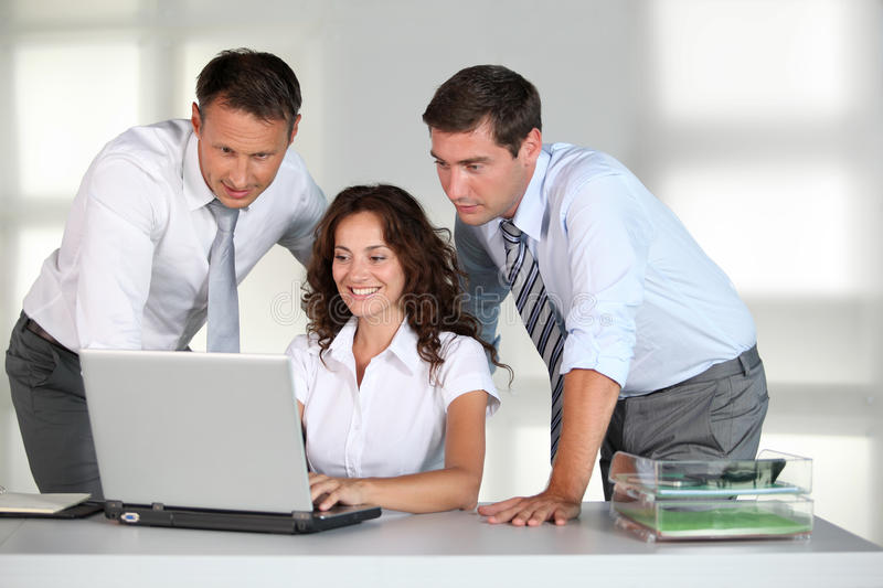Business People At Work Royalty Free Stock s Image