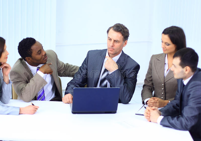 Download Business people in a work stock image. Image of happy - 21489589