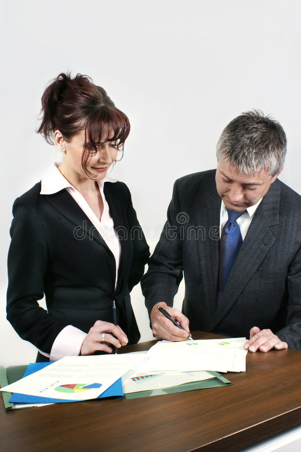 Download Business people working stock image. Image of teamwork - 5279537