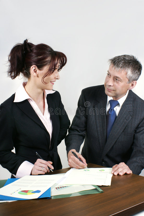 Business People Working Stock Photos