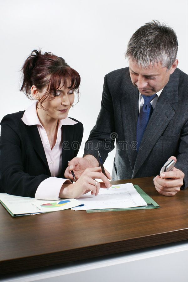 Download Business people working stock photo. Image of communication - 5353676
