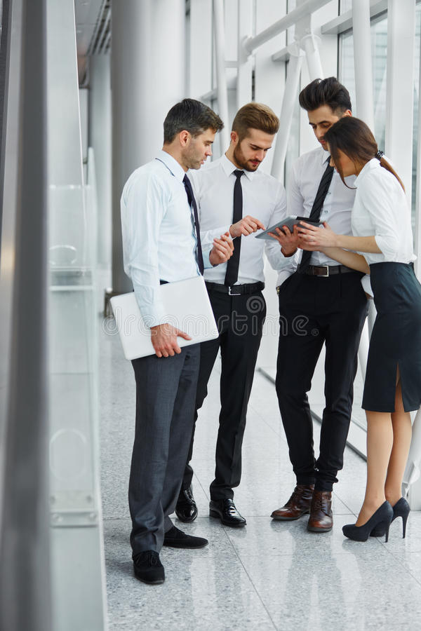 Business People Working as a Team at the Office.  royalty free stock photography
