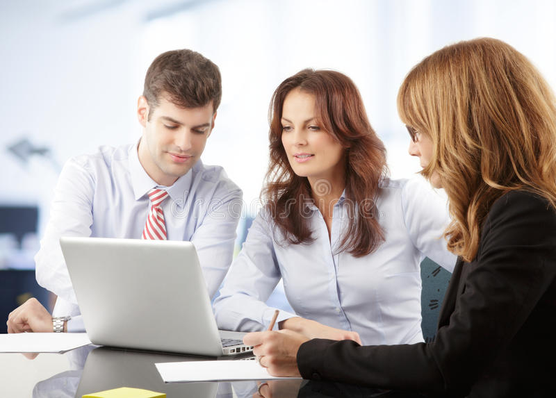 Download Business People Working In Group Royalty Free Stock Photos - Image: 36875338