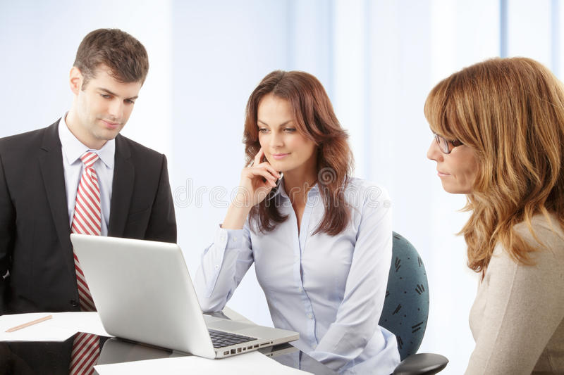 Download Business People Working In Group Stock Photo - Image: 36875456