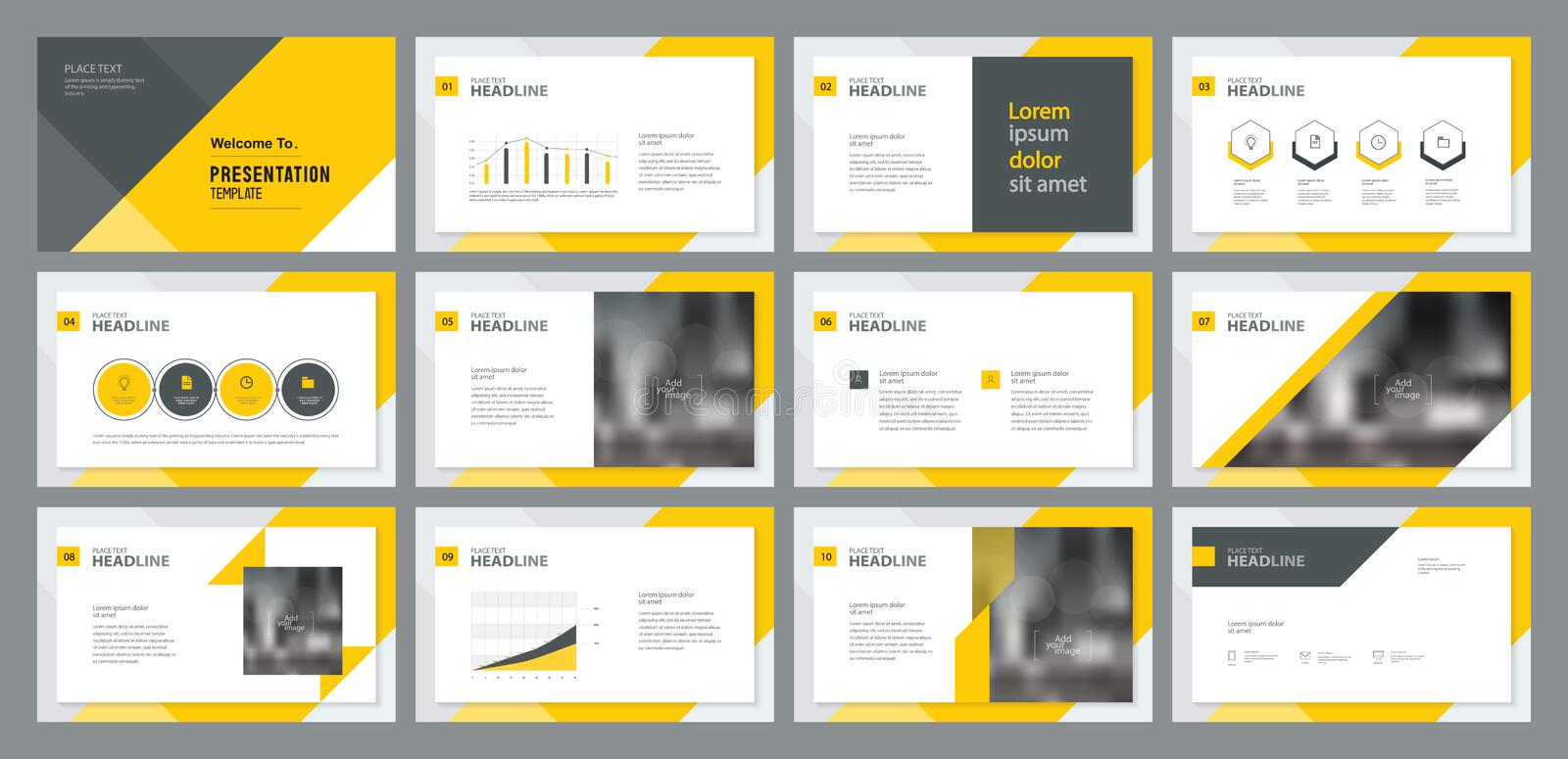 Business people working and project analyze research processtemplate presentation design and page layout design for brochure ,book. Template presentation design stock illustration