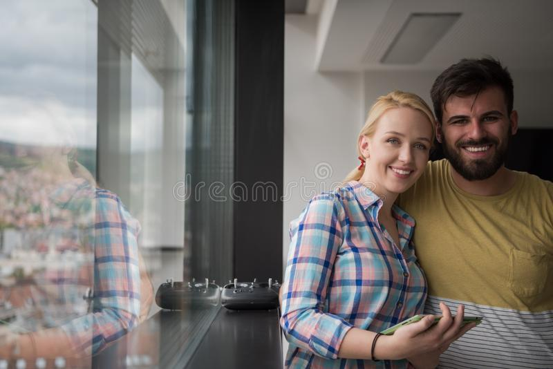 Business People Working With Tablet in startup office stock photos
