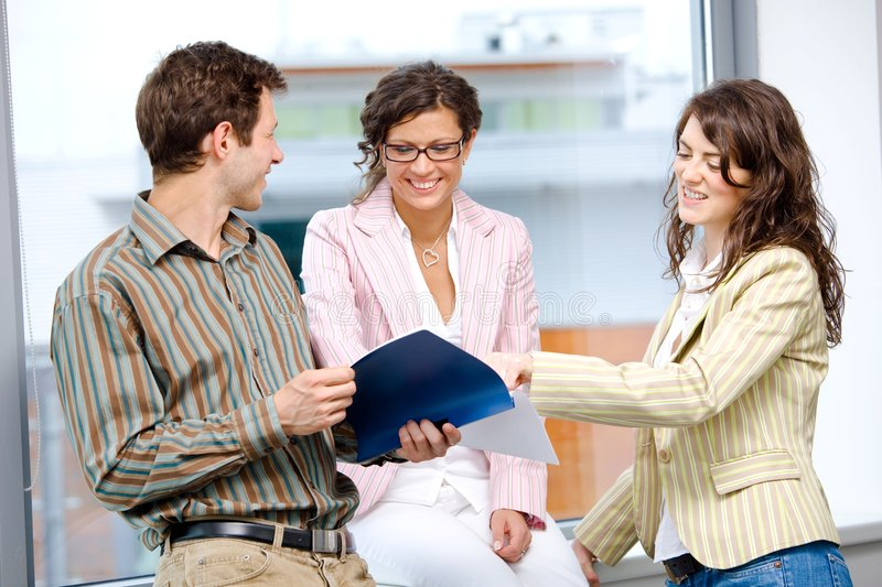 Download Business People Working In Team Stock Photo - Image of associates, documents: 7999192