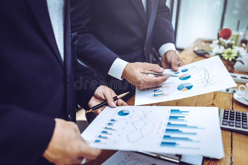 Business people working together meeting royalty free stock photo