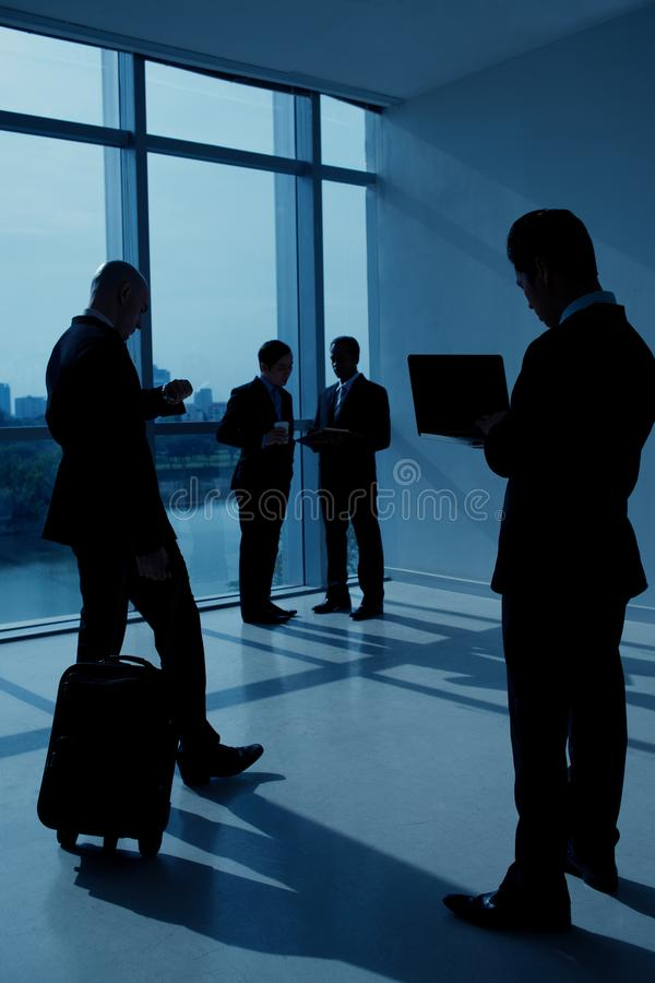 Business lounge area royalty free stock photography