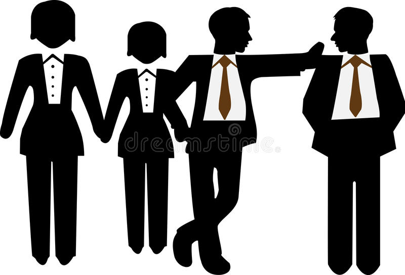 Business Peoples royalty free illustration