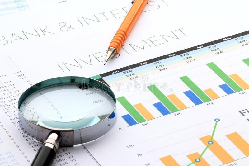 Business Performance Analysis Stock Image  Image Of Capital Cash