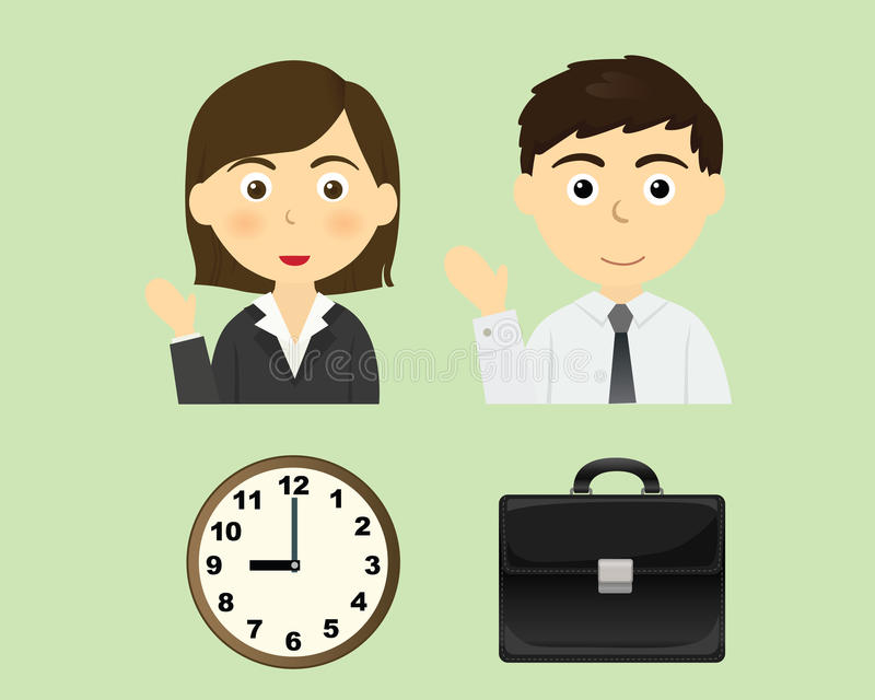 Download Business person stock vector. Illustration of icon, suit - 13975832