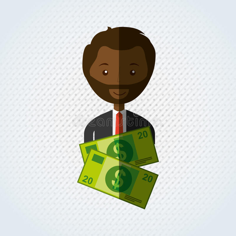 Business person design. Illustration eps10 graphic stock illustration
