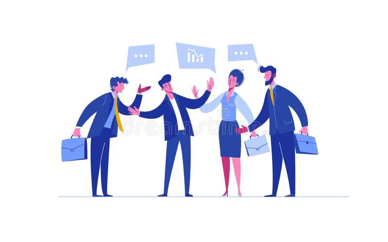 Merger Word Arrows Around World Combining Companies Business Stock