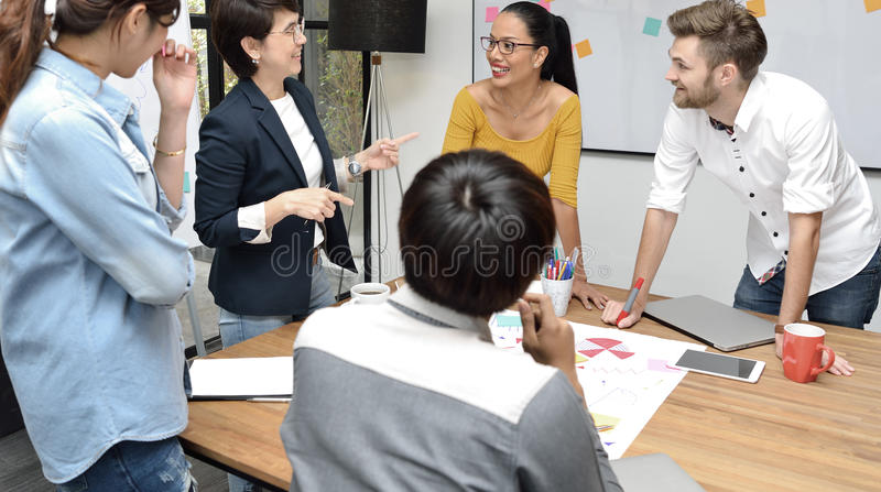 Business persons royalty free stock images